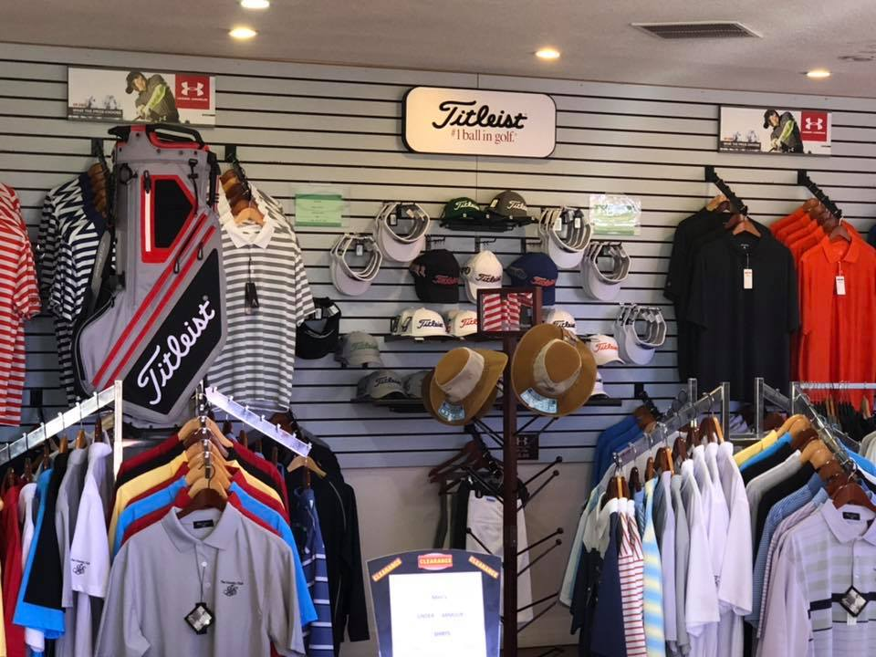 Interior view of the pro shop at Silver Springs Shores